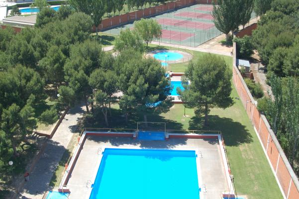 Instalaciones Residencia de Estudiantes Ramon Pignatelli Piscinas