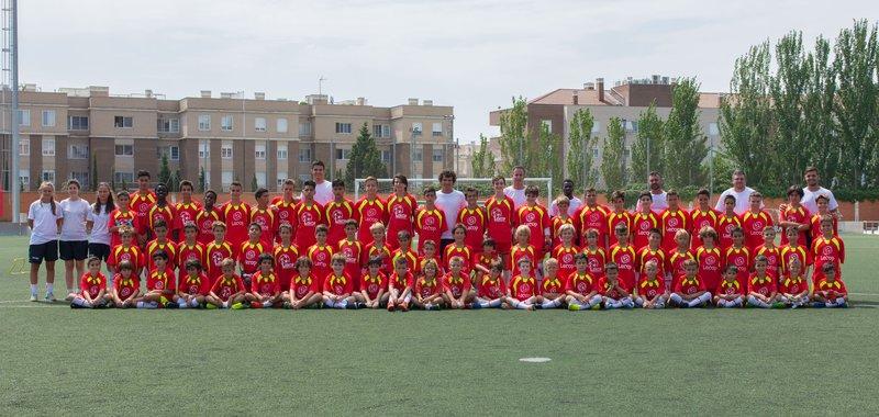 Foto General Campus de Fútb Semana 4