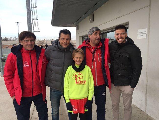Juanjo e Ignacio Camacho visitan nuestro Campus de Navidad